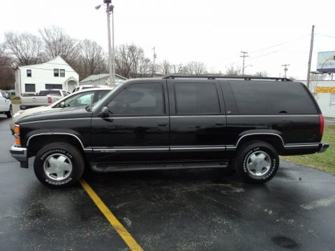 used 1999 chevrolet suburban k1500 lt 4x4 for sale stock. Black Bedroom Furniture Sets. Home Design Ideas