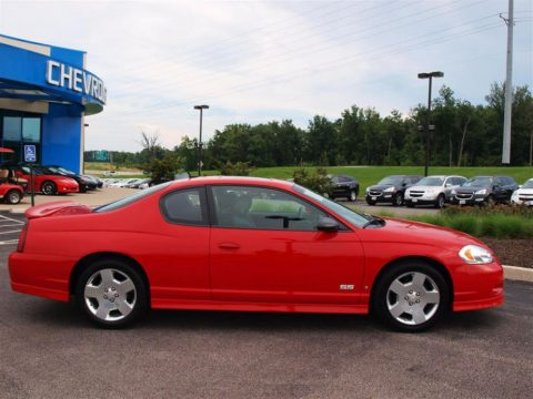 used 2006 chevrolet monte carlo ss for sale stock 8041a dealer car ad. Black Bedroom Furniture Sets. Home Design Ideas