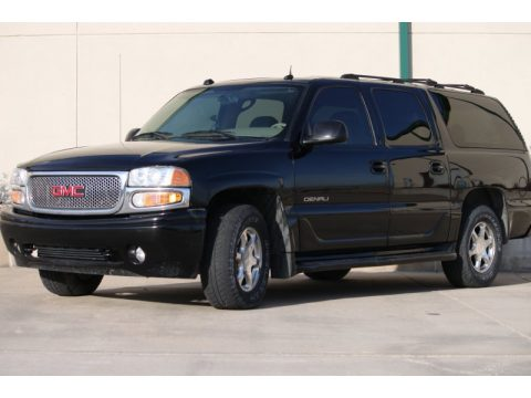 Onyx Black GMC Yukon XL Denali AWD.  Click to enlarge.