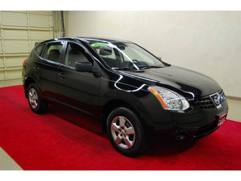 2008 Nissan Rogue Black Www Proteckmachinery Com