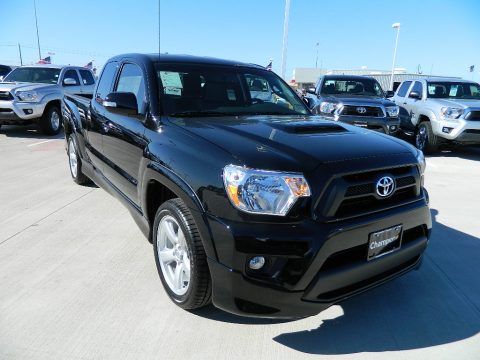 Black Toyota Tacoma X-Runner.  Click to enlarge.