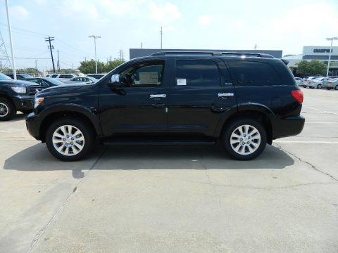 new 2011 toyota sequoia platinum for sale stock bs037229 dealer car ad. Black Bedroom Furniture Sets. Home Design Ideas