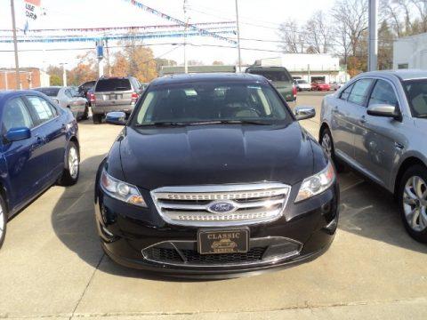 Ebony Black Ford Taurus Limited.  Click to enlarge.