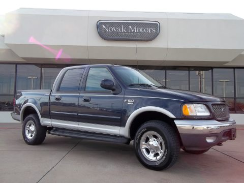 Used 2001 Ford F150 Xlt Supercrew 4x4 For Sale Stock