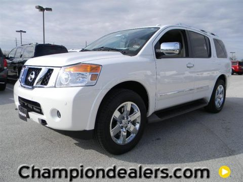 new 2012 nissan armada platinum for sale stock cn603150 dealer car ad. Black Bedroom Furniture Sets. Home Design Ideas