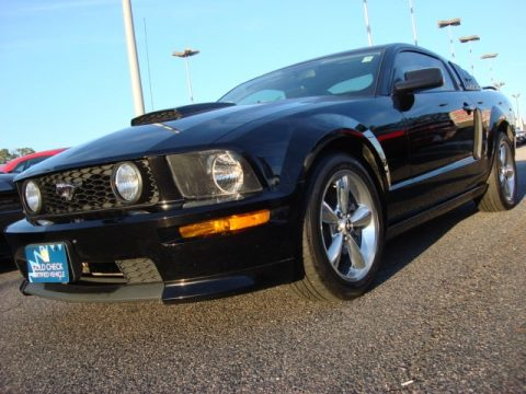 used 2007 ford mustang gt cs california special coupe for sale stock d12276a. Black Bedroom Furniture Sets. Home Design Ideas
