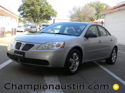 Liquid Silver Metallic Pontiac G6 GT Sedan.  Click to enlarge.