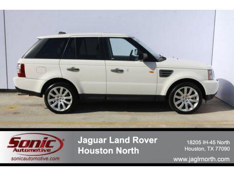Jaguar Land Rover Houston North   Houston, Texas. Alaska White Land Rover  Range Rover Sport Supercharged. Click To Enlarge.