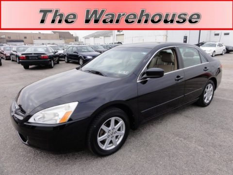 used 2004 honda accord ex v6 sedan for sale stock ac0700aw dealer car ad. Black Bedroom Furniture Sets. Home Design Ideas