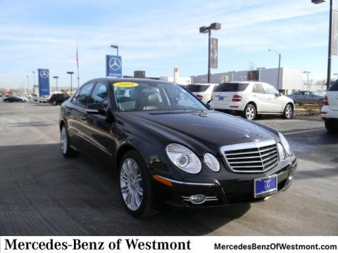 Used 2008 mercedes benz e 350 4matic sedan for sale for Mercedes benz of westmont il