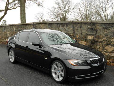 Black Sapphire Metallic BMW 3 Series 335i Sedan Click To Enlarge