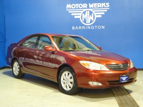 Used 2003 toyota camry xle v6 for sale stock 00p4170a for Motor werks barrington used cars