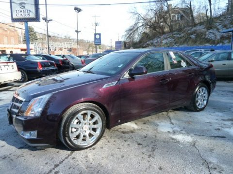 Used 2009 Cadillac Cts 4 Awd Sedan For Sale Stock 44721