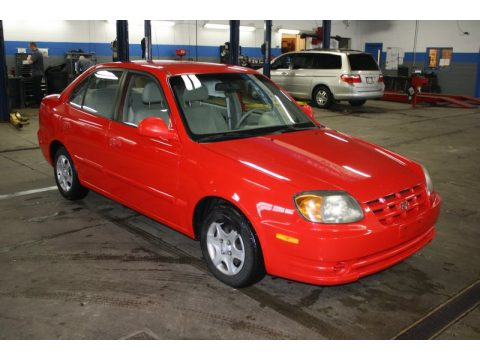 Used 2003 Hyundai Accent Gl Sedan For Sale Stock