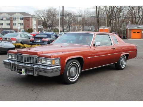 Used 1977 cadillac coupe deville for sale stock l0016 saffron metallic cadillac coupe deville click to enlarge publicscrutiny Image collections