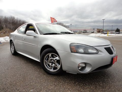 Galaxy Silver Metallic Pontiac Grand Prix GT Sedan.  Click to enlarge.