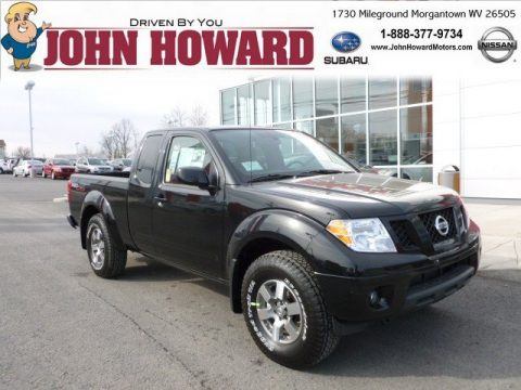 New 2012 nissan frontier pro 4x king cab 4x4 for sale for John howard motors morgantown wv