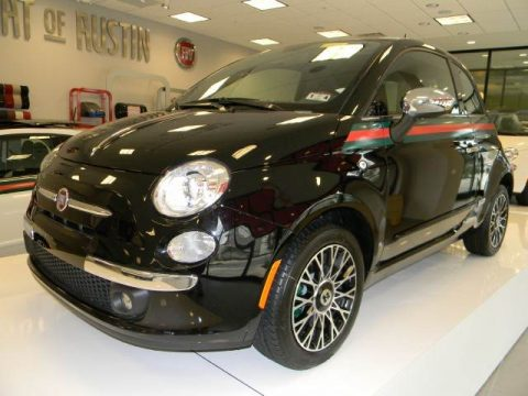 new 2012 fiat 500 gucci for sale stock ct229137. Black Bedroom Furniture Sets. Home Design Ideas