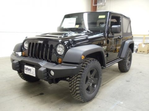 New 2012 Jeep Wrangler Call Of Duty Mw3 Edition 4x4 For Sale