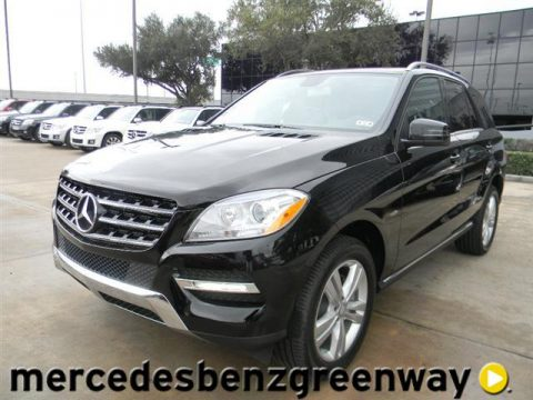 New 2012 mercedes benz ml 350 4matic for sale stock for Mercedes benz dealers houston