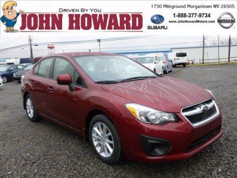 New 2012 Subaru Impreza Premium 4 Door For Sale Stock 1009838 Dealer