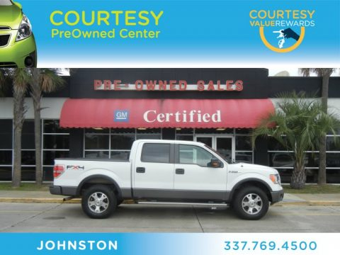 Used 2009 Ford F150 Fx4 Supercrew 4x4 For Sale Stock 2120279a Dealer Car