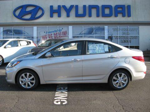 new 2012 hyundai accent gls 4 door for sale stock 12h0266 dealer car ad. Black Bedroom Furniture Sets. Home Design Ideas