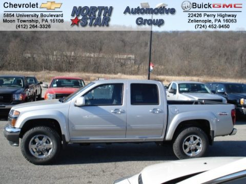 New 2012 gmc canyon sle crew cab 4x4 for sale stock g5139 pure silver metallic gmc canyon sle crew cab 4x4 click to enlarge publicscrutiny Images