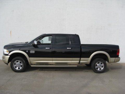 Used 2011 dodge ram 2500 hd laramie longhorn mega cab 4x4 - Dodge ram 2500 laramie longhorn interior ...