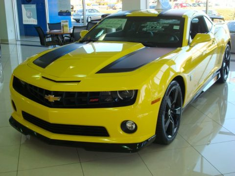 New 2012 Chevrolet Camaro SS Coupe Transformers Special
