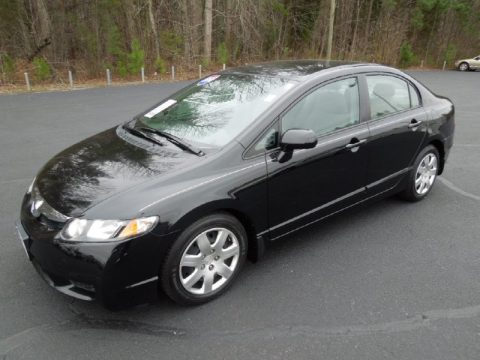 Used 2010 honda civic lx sedan for sale stock j8482b for Used 2010 honda civic