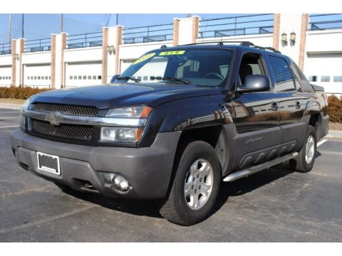 Dark Gray Metallic Chevrolet Avalanche 1500 Z71 4x4.  Click to enlarge.