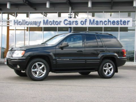 Used 2002 Jeep Grand Cherokee Limited 4x4 For Sale Stock