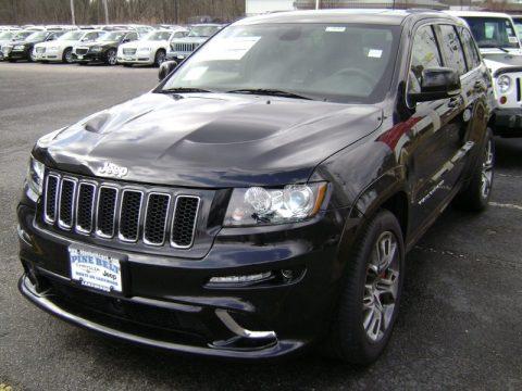 new 2012 jeep grand cherokee srt8 4x4 for sale stock 1427l dealer car ad. Black Bedroom Furniture Sets. Home Design Ideas