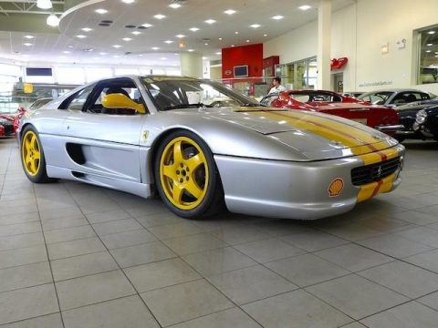 Silver Ferrari F355 Challenge.  Click to enlarge.