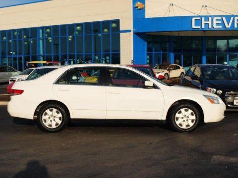 Taffeta White Honda Accord LX Sedan. Click To Enlarge.