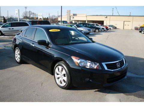 used 2009 honda accord ex v6 sedan for sale stock. Black Bedroom Furniture Sets. Home Design Ideas