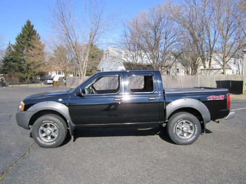 used 2003 nissan frontier xe v6 crew cab 4x4 for sale. Black Bedroom Furniture Sets. Home Design Ideas