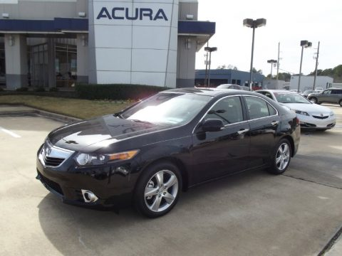 Acura  2012 on Crystal Black Pearl Acura Tsx Technology Sedan  Click To Enlarge