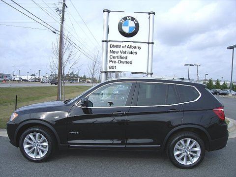 Jet Black BMW X3 XDrive 28i Click To Enlarge