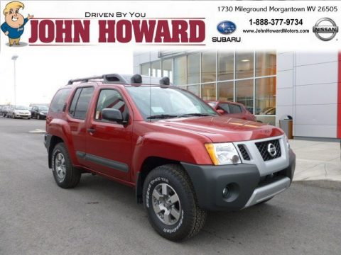 New 2012 Nissan Xterra Pro 4x 4x4 For Sale Stock