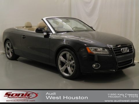 Used 2010 audi a5 2 0t cabriolet for sale stock san012412 dealer car ad - Bank cabriolet linnen ...