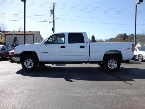 Used 2004 Chevrolet Silverado 2500HD LT Crew Cab 4x4 for Sale - Stock