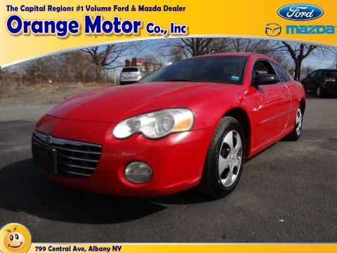 Used 2004 chrysler sebring coupe for sale stock for Orange motors albany new york