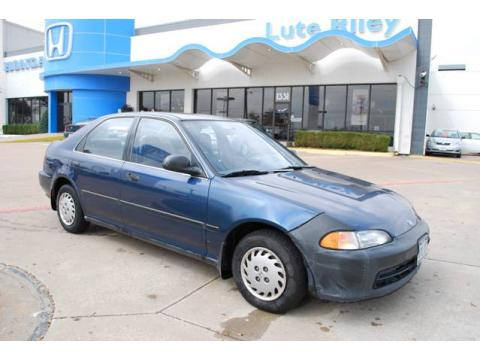 Used 1992 honda civic lx sedan for sale stock tns009503 for Lute riley honda 1331 n central expy richardson tx 75080