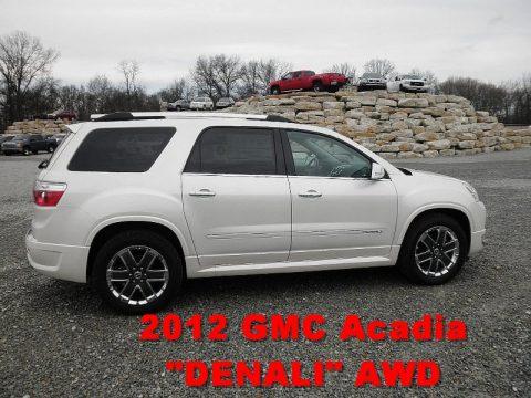 new 2012 gmc acadia denali awd for sale stock 27660 dealer car ad 62434660. Black Bedroom Furniture Sets. Home Design Ideas