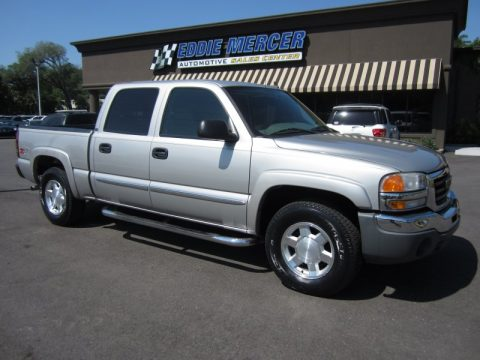 used 2006 gmc sierra 1500 slt z71 crew cab 4x4 for sale stock 103136. Black Bedroom Furniture Sets. Home Design Ideas