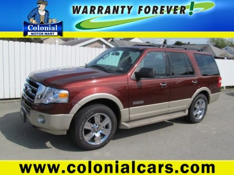 Used 2007 ford expedition eddie bauer 4x4 for sale stock for Colonial motors indiana pa