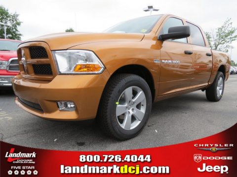new 2012 dodge ram 1500 express crew cab for sale stock. Black Bedroom Furniture Sets. Home Design Ideas
