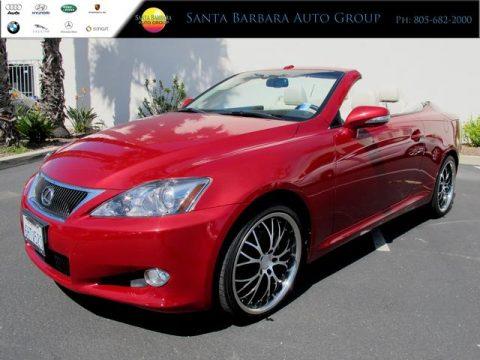 used 2010 lexus is 250c convertible for sale stock u5403 dealer car ad. Black Bedroom Furniture Sets. Home Design Ideas